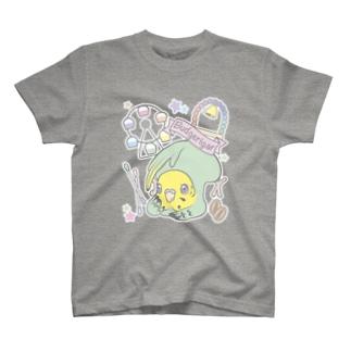 夢みるインコ T-shirts