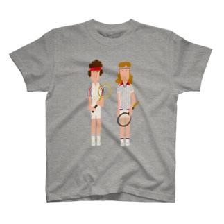 McEnroe & Borg T-shirts