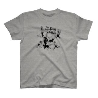 トムラ ヒロのThe Doggone Dog Is Mine  Boys T-shirts