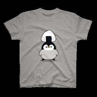 DECORの心くばりペンギン / おにぎりver. T-shirts