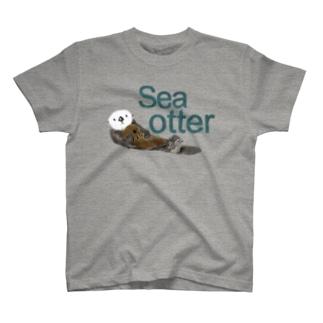 ラッコ親仔 T-shirts