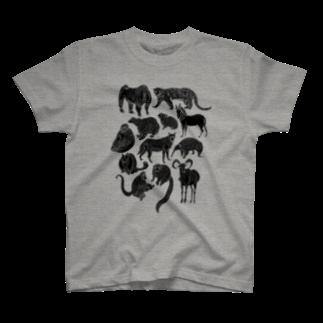 megumiillustrationのEndangered Species T-shirts