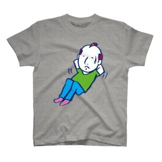 Training Boy/濃色Tシャツ T-shirts