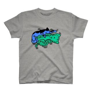 たわむれ猫 T-shirts