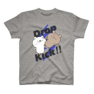 くまVSいぬ T-shirts
