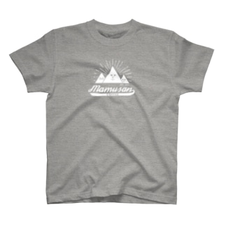 mamusanCOFFEE-shiro- T-shirts