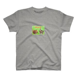 peace cat T-shirts