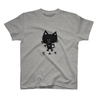 ねこキャット T-shirts
