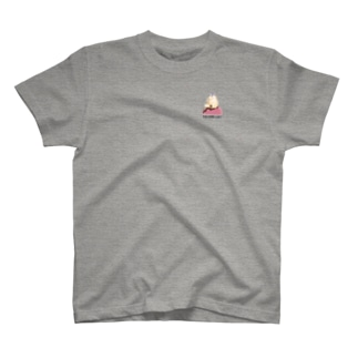 夏祭りパフェワンポイントシャツ T-shirts