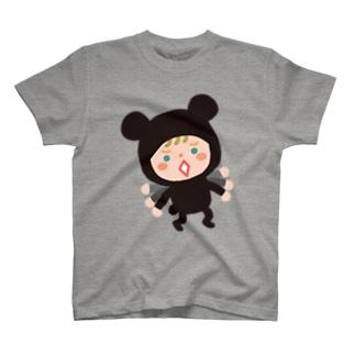 たまごや石鹸堂のかぶりものT【やだやだ】 T-shirts