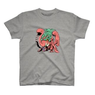 新井順證 作 (和宗)「マカラ」 T-shirts