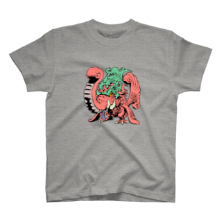 METTAの新井順證 作 (和宗)「マカラ」 T-shirts