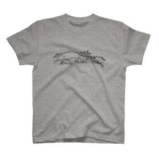 ジネズミぽいの T-shirts