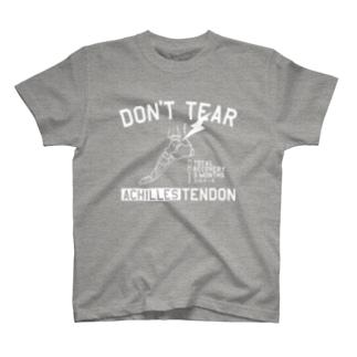 アキレス腱断裂W T-shirts