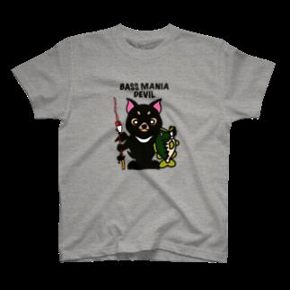 ikeyocraft のバスマニアデビル T-shirts