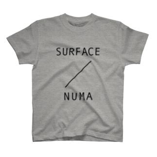 SURFACE TEE(NUMA GRAY) Tシャツ