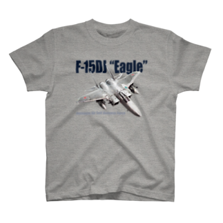 kazu Aviation ArtのF-15DJ T-shirts