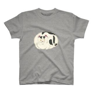 おもちゃねこ<和風イラスト> T-shirts
