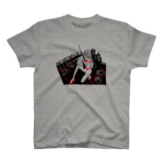 一撃必殺 T-shirts