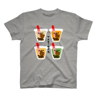 タピオカ T-shirts