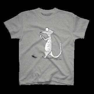 ツギオ屋のWalk with The Insect T-shirts