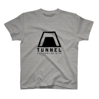 コンブのTUNNEL T-shirts