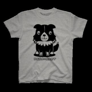 nowhitonの【nina&bart】バート T-shirts