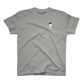 盗んだサンマと歩き出す猫(小) T-shirts