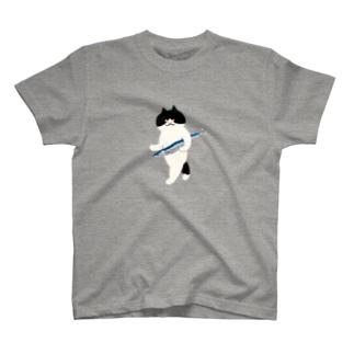 盗んだサンマと歩き出す猫(中) T-shirts