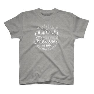 予期しない理由で終了しました_DARK T-shirts
