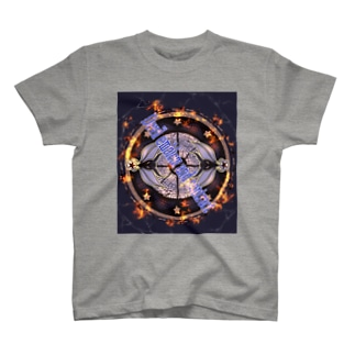 悪魔の紋章と契約 T-shirts