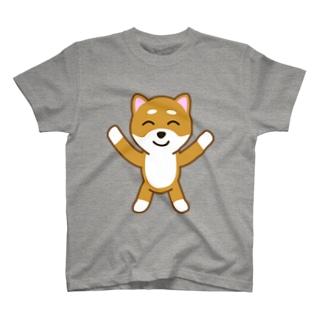 柴犬たろう其の二Tシャツ T-shirts