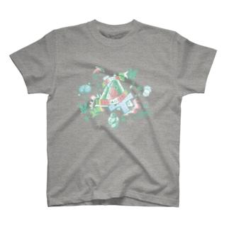 S▲B▲tO(15SS/u-canaria) T-shirts