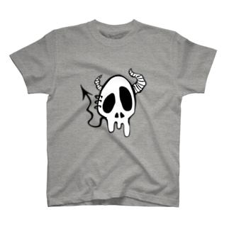 Devil Skull-Normal- T-shirts