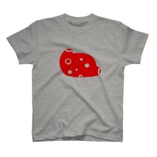 もはや妖精ですらない胃袋(赤) T-shirts