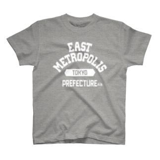 東京都  EAST METROPOLIS T-shirts
