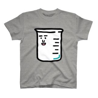 キャラNo.1ビーカーくん T-shirts