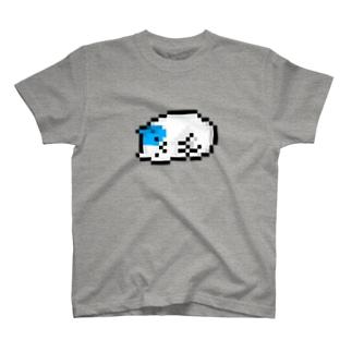 ドット絵こねこ(疲れたこねこ) T-shirts