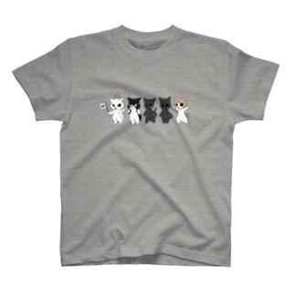 ねこや久鶻堂のネズミ狩りツアーT : 甲 T-shirts