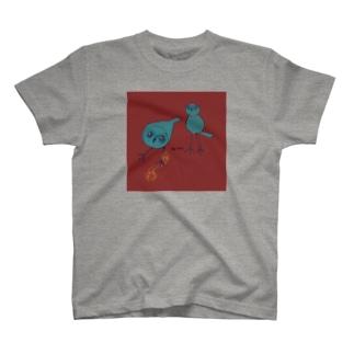 アナホリフクロウダークレッド T-shirts
