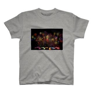 fireworks01 ~花火~ T-shirts