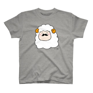 ヒゲ羊 T-Shirt