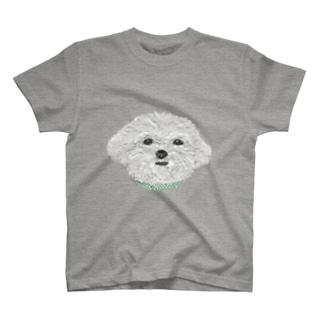 マルチーズ T-shirts