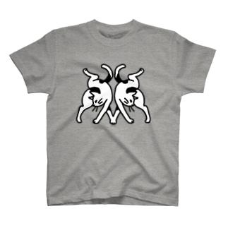 #不思議な動物園 [猫] T-shirts