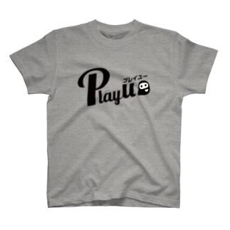 PlayU ロゴTシャツ T-shirts