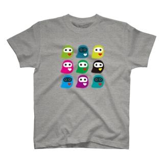 PlayU キャラクターTシャツ T-shirts