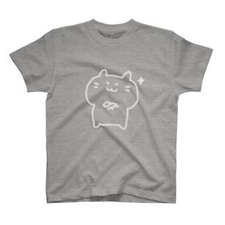 キラーンハムスター(白線) T-shirts