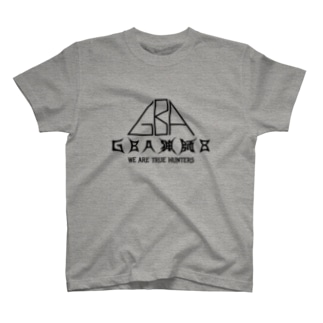 GBA猟師8Tシャツ(文字黒) T-shirts