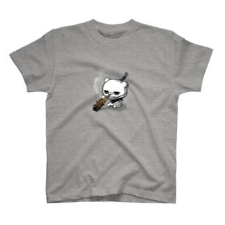 ブチギレ毒舌くま(🚬) T-shirts