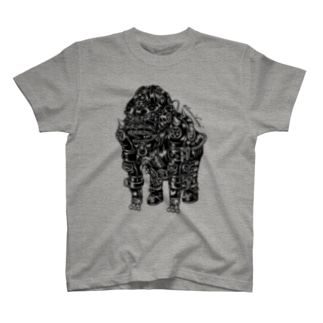 "Animalia Kinky "" Black Gorilla "" T-shirts"